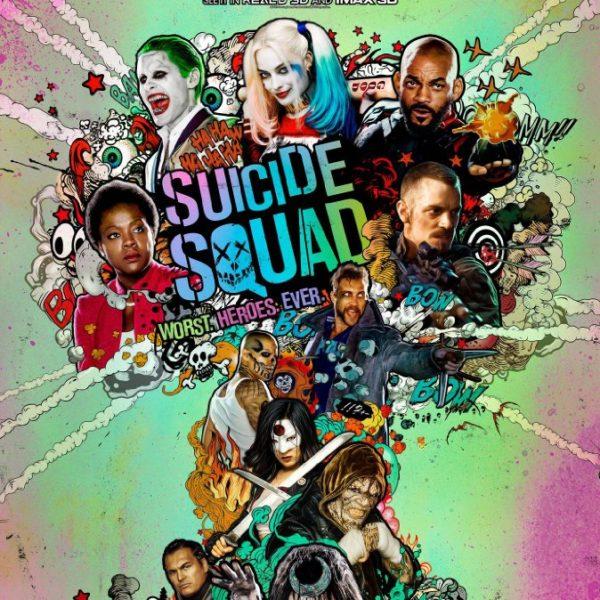 """""""Suicide Squad"""" film poster"""