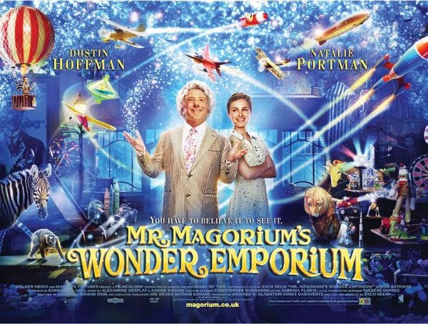 Mr. Magorium's Wonder Emporium. Movie.