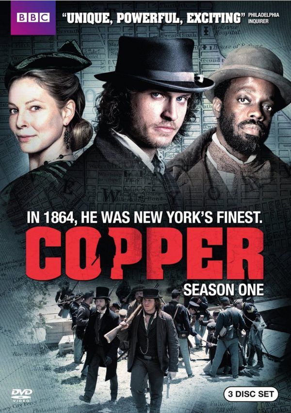 "TV series ""Copper"" poster"