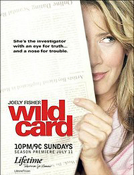 "TV series ""Wild Card"" poster"