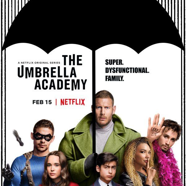 "A Netflix Original Series, ""The Umbrella Academy"" Poster"