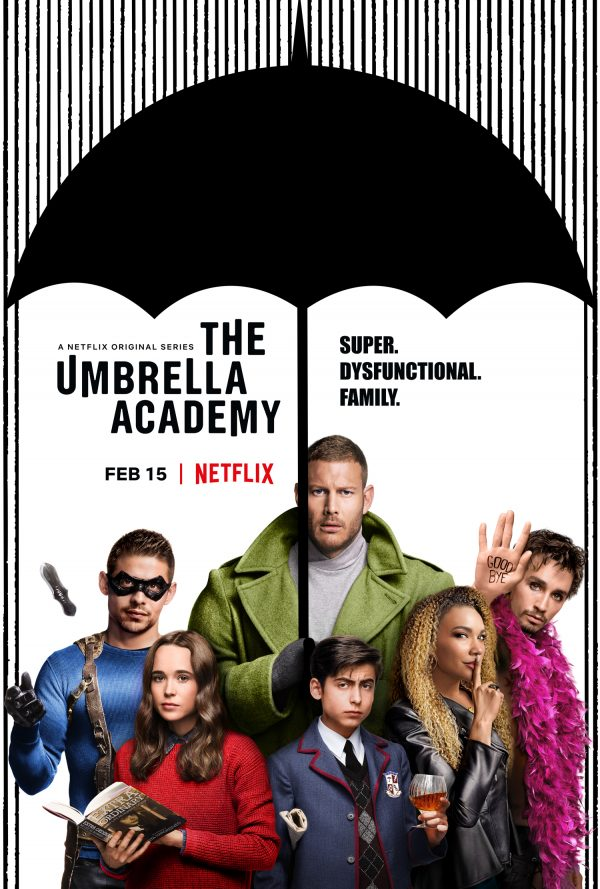 "A Netflix Original Series, ""The Umbrella Academy"" Poster"
